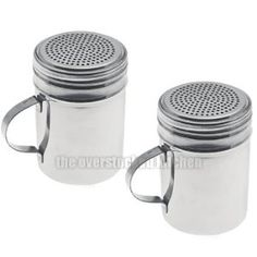 Salt and pepper shaker blanks http://www.amazon.com/Commercial-Stainless-Pepper-Shakers-Dredges/dp/B000JUTCEQ?SubscriptionId=0XF3P8NYDMGB520XRZ82&tag=officefurni01-20&linkCode=xm2&camp=2025&creative=165953&creativeASIN=B000JUTCEQ