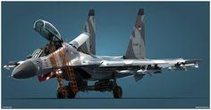 Su-30MK2 TNI-AU Studio v1 by *Siregar3D on deviantART