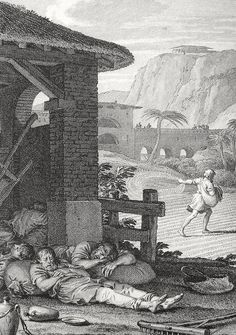 Phillip Medhurst presents Bowyer Bible print 3643 The parable of the Tares Matthew 13:24-25 French School on Flickr. A print from the Bowyer Bible, a grangerised copy of Macklin's Bible in Bolton Museum and Archives, England.