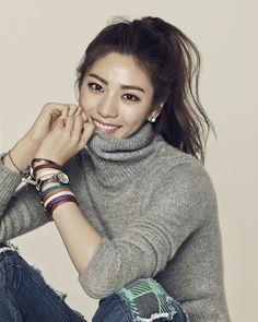 """ Im Jin Ah for Marie Claire Korea December. Most Beautiful Faces, Beautiful Asian Women, Beautiful People, Korean Beauty, Asian Beauty, Nana Afterschool, Im Jin Ah Nana, After School, Korean Women"