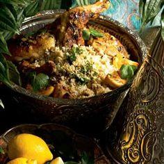 Marokkolainen sitruunakana - Reseptit – Kotiliesi