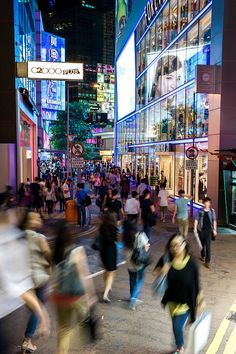 Shopping, food and nightlife at Causeway Bay