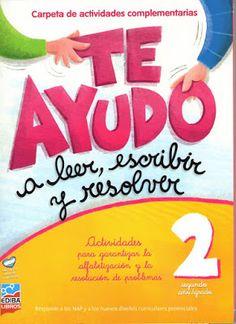 SECRETOS: Libro Te Ayudo... a leer, escribir y resolver 2