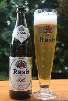 Pils der Brauerei Raab aus Hofheim in Unterfranken, via Flickr.