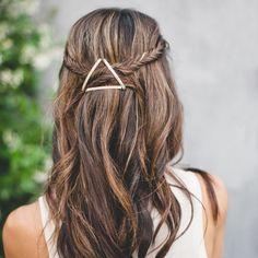 Bobby Pin Hairstyle hair hair ideas hairstyles hair pictures hair designs hair images