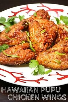 Hawaiian Pupu Chicken Wings is listed (or ranked) 11 on the list Finger-Lickin' Chicken Wing Recipes