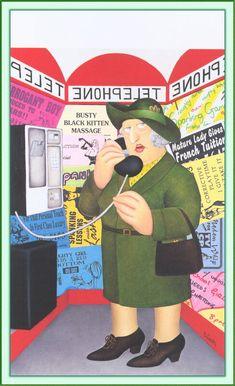 English Artists, British Artists, Beryl Cook, Plus Size Art, Fat Art, Family Picnic, Fat Women, Naive Art, Cook Art