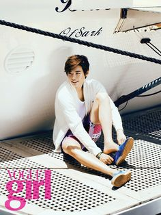 Lee Jong-seok // June 2013 ~ <3 nautical boy. (OTL ahahaha I promise I didn't intend for that to be a pun.)