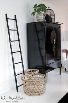 Montage: 16 Rooms with Asian Cabinets bohemian scandi nordic black and white neutral natural home decor What is Decoration? Decor, Interior, Asian Furniture, Oriental Interior, Asian Cabinet, Home Deco, Chinese Furniture, Asian Interior, Asian Home Decor