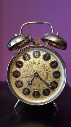 Vintage 1970's Mechanical Alarm Clock.Brand:KIPLE