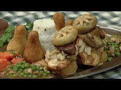 Laci bácsi menü - Vajdasági húsgombóc leves, Gundel pulykafilé Mint, Chicken, Youtube, Food, Essen, Meals, Youtubers, Yemek, Youtube Movies