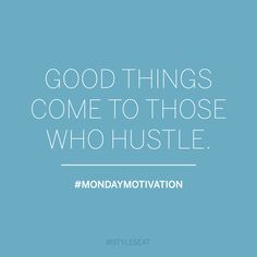 Hustle | Motivational Quote