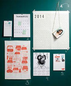Kalenteri vuodelle 2014