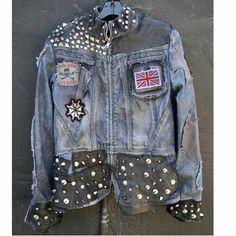 Do you love Hanna's edgy denim jacket?  Her's is custom from Forgotten Saints but this one from their collection is similar   Pretty Little Liars