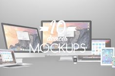 Check out 10 Hip Device Mock-ups by Maulana Creative on Creative Market