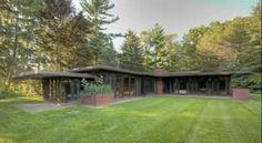 The Weltzheimer/Johnson House, 1948  Architect: Frank Lloyd Wright  Photograph: Dirk Bakker  The First Usonian Home In Ohio