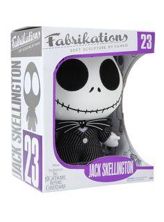 Funko The Nightmare Before Christmas Jack Skellington Fabrikations Plush | Hot Topic