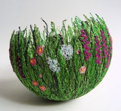 Hedgerow Bowl by chocolatefrog on Etsy, $72.00, @Shelley Kuitunen