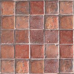 ann sacks terra cotta | Antique Dark Tile Terra Cotta Collection from Ann Sacks