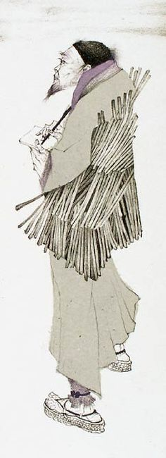 Marina Richterova(Russian, b.1962)  Basho, Japanese Cycle, 2006. Lithography