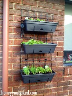 bunnings vertical planter - Google Search