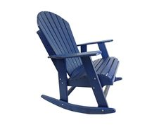 Poly Adirondack Rocking Chair #RockingChair