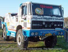 Jan de Rooy, Yvo Geusens, Theo van de Rijt - DAF FAV 3600 TurboTwin II - 1987 - Paris Dakar