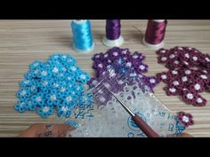 🌼 Sipariş Rekorları Kıran Muhteşem Tığ İşi Motifım 😀🌼 Çok güzel oldu 👏 - YouTube Yarn Flowers, Crochet Flowers, Crochet Stitches, Crochet Patterns, Saree Tassels, Macrame Jewelry, Handmade Flowers, Needlework, Diy And Crafts