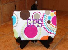 Looking for a case to put your GPS in....try the Mini Zipper Pouch! Perfect size!