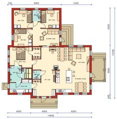 Future House, Floor Plans, Layout, Flooring, How To Plan, Architecture, Highlights, House Ideas, Bedroom