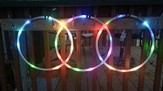 Led Hula Hoop, Led Hoops, Mini Hands, Colorado, Neon Signs, Rings, Aspen Colorado, Ring, Jewelry Rings