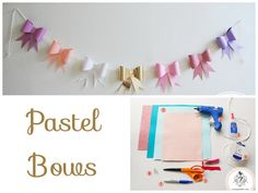 Minimalist bows can add a pop of color to a spring high tea. | 32 Unbelievably Cheap And Beautiful DIY Photo Backdrops