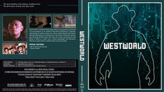 Westworld Blu-ray Custom Cover Cover Design, Artwork, Movie Posters, Work Of Art, Film Poster, Book Cover Design, Cover Art, Film Posters