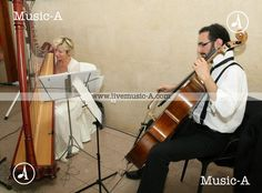 Harp and cello Harp, Cello, Live Music, Music Instruments, Weddings, Musical Instruments, Mariage, Cellos, Wedding