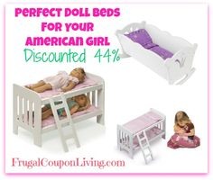 Doll Bed Sale - Perfect For American Girl Dolls!