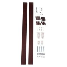 360 Wall Mount Kit for 360 Configurable Collection by Primetime Petz, Multiple Sizes, Brown