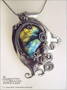 Coral Reef Necklace by Samantha_Braund, via Flickr
