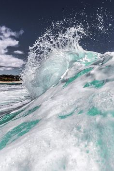 The Dope Surf Society® Ocean photography. Water Waves, Sea Waves, Sea And Ocean, Ocean Beach, Ocean Sunset, Beautiful Ocean, Beautiful World, Photo Portrait, All Nature