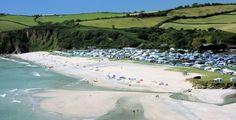 Beautiful Pentewan Sands in Cornwall. #staycornwall