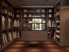 Modern Wardrobe Closets Storage for Men Organizers Systems Design Ideas