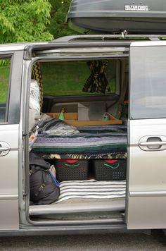 A Look Into Mini Van Dwelling