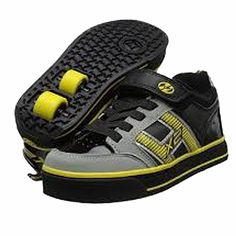 Heely's Bolt Plus X2 Roller Shoe (Blk/Grey/Yellow)