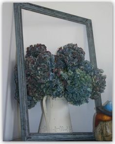 Flowers in a frame...