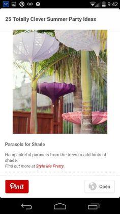Umbrella upside down