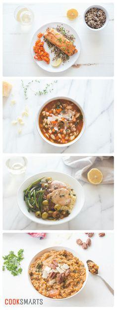 Weekly Meal Plan Menu | Week of 1/16/17 via @cooksmarts