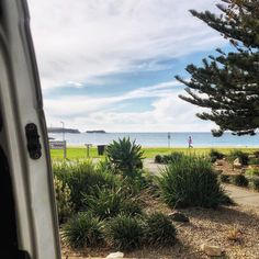 When you get the best campsite in town!  This was our view for 3 days in Kiama. We loved this town. So much to see and do.  #vanlifetheory #vanlifediaries #vanlife #vanlifeaustralia Our Love, This Is Us, Campsite, Van Life, Theory, Australia, Day, Plants, Instagram