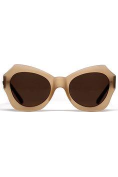 Quay Australia - Ladies' Mia Matte Sunglasses in Coffee