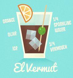 Spanish Siesta El Vermut Recipe
