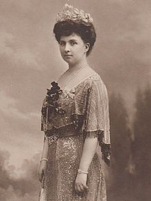 The Infanta Blanca of Spain (1868-1949). She was a daughter of The Infante Carlos The Duke of Madrid and his wife, The Princess Margherita of Bourbon-Parma. She was the wife (1889-1931) of The Archduke Leopold of Austria-Tuscany. Her children were The Archdukes Rainer, Leopold, Anton, Franz, and Karl, and The Archduchesses Maria de los Dolores, Maria Immakulata, Margaretha, Maria Antonia, and Assunta.