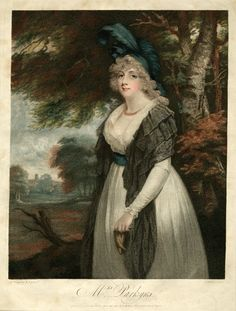 1795 Lady Rancliffe nee Elizabeth Anne James, married to Thomas Boothby Parkyns, 1st Baron Rancliffe by John Hoppner